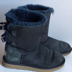 Ugg Bailey Bow Boot Blue